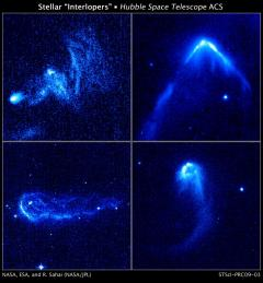 Stellar Interlopers Caught Speeding Through Space