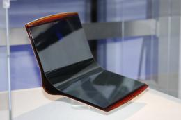 Super-thin flexible OLED from Sony