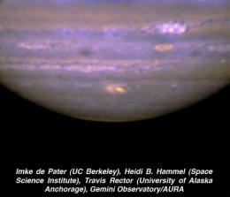 Surprise Collision on Jupiter Captured by Gemini Telescope