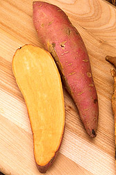 Sweet Potato Protection is More Than Skin Deep