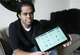 Tech blog, Singapore startup feud over tablet PC (AP)