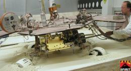Test Mars Rover Checks Pivoting Technique