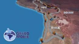 The GalileoMobile starts its South American voyage