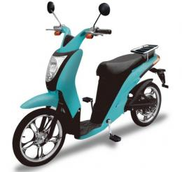 The Japanese electric zero-emission hybrid scooter