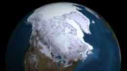 The least sea ice in 800 years