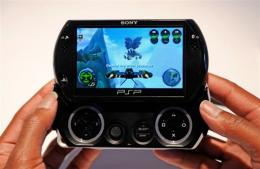 The new PSP Go