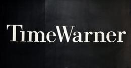 The Time Warner company logo at their headquarters