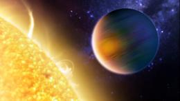 Transiting exoplanet