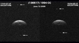 Triple Asteroid System Triples Observers' Interest