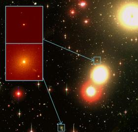 Stars cheek by jowl in the early Universe