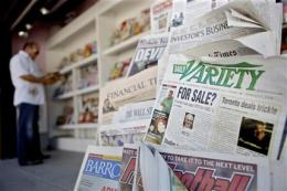 Variety trade newspaper to charge for online site (AP)