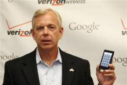 Verizon's big ad push for Android takes on iPhone (AP)