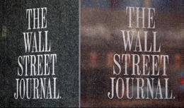 Wall Street Journal managing editor Robert Thomson accused Google of promoting online news reading a