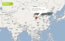 Web site tracks world online censorship reports (AP)