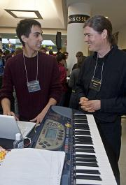 Web wizardry: CS 50 Fair spotlights students' programming for the Web