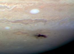 What Hit Jupiter?
