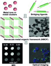 Smaller and sharper: Nanoscale Metal-Organic Frameworks (NMOFs) as MRI Contrast Agents