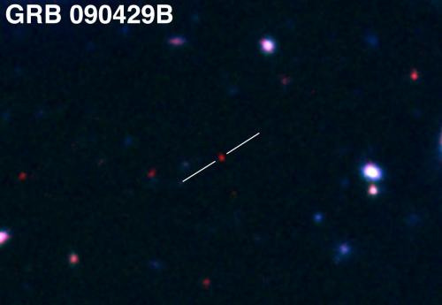 New candidate for most distant object in universe