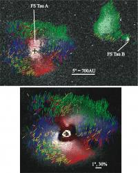 Duo of big telescopes probes the depths of binary star formation
