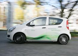 Electric cars are suitable for everyday use