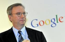Google CEO Eric Schmidt arrived in S.Korea on Monday for a visit aimed at increasing company's presence in the country