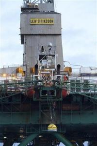 Greenpeace activists climb Greenland oil rig (AP)