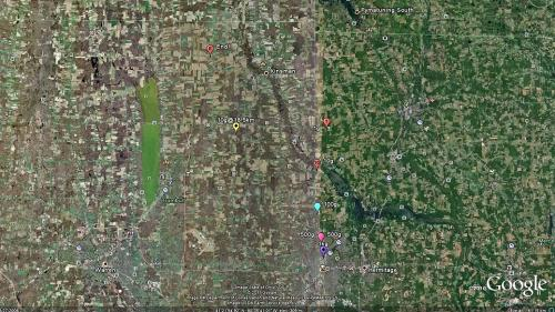High confidence meteorite fall in Northeast Ohio