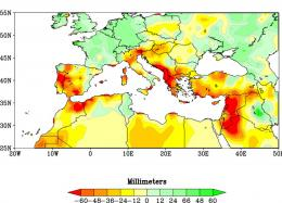Human-caused climate change a major factor in more frequent Mediterranean droughts