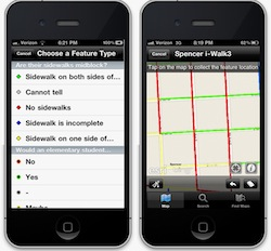 ISU study uses iPhone GPS tools to assist 12 Iowa towns with their Safe Routes to School programs