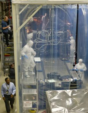 Landsat's TIRS instrument comes out of first round of thermal vacuum testing