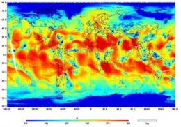 NASA'S NPP satellite acquires first ATMS measurements