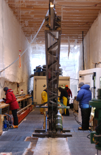 NEEM ice core drilling in Greenland provides comprehensive new results