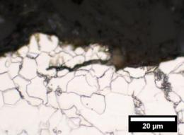 NIST finds that ethanol-loving bacteria accelerate cracking of pipeline steels