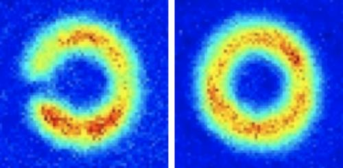 The first non-Trivial atom circuit: Progress towards an atom SQUID