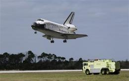 Shuttle Discovery ends flying career, museum next (AP)