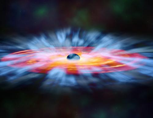 Space telescopes reveal secrets of turbulent black hole