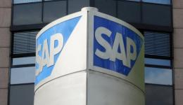 The headquarters of German professional software giant SAP in Walldorf, Germany