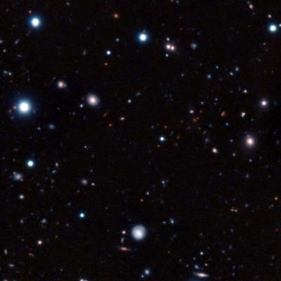 The most distant mature galaxy cluster