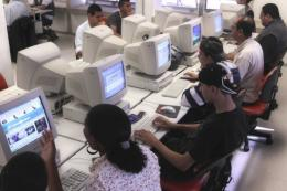 The number of Brazilians with access to the Internet has increased by 6.5 percent since last year