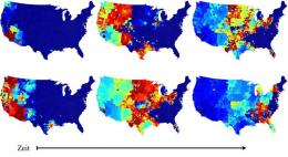 Travelling epidemics