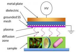 Using ionized plasmas as cheap sterilizers for developing world