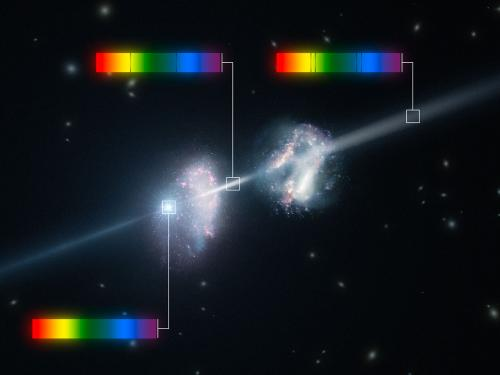 VLT observations of gamma-ray burst reveal surprising ingredients of early galaxies