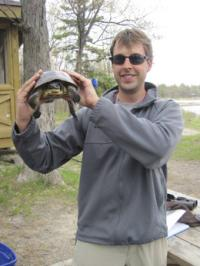 Researchers remotely tracking threatened turtles and popular pike in Georgian Bay