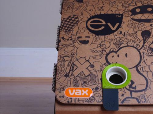 College student invents cardboard vacuum cleaner