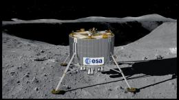Looking at the volatile side of the Moon