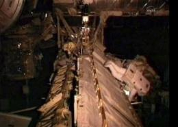 Spacewalking astronaut gets stinging soap in eye (AP)