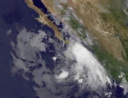 Tropical Storm Dora bringing rough surf to southern Mexico