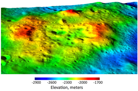 Unique volcanic complex discovered on Moon's far side