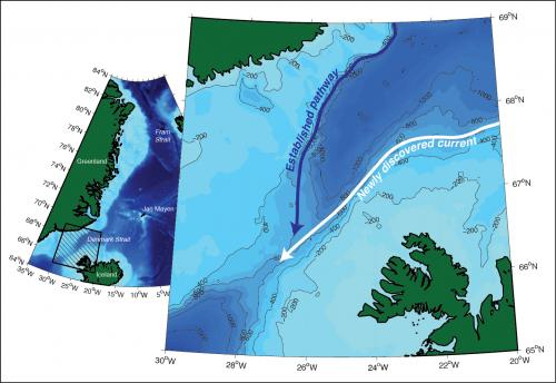 Researchers discover Icelandic current, change North Atlantic climate picture