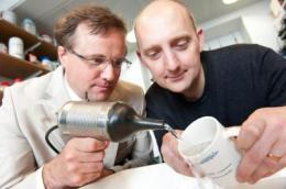 Revolutionary ultrasonic nozzle that will change the way water cleans